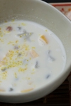 ガティ・サイ・サクー(タピオカ入りココナッツミルク)